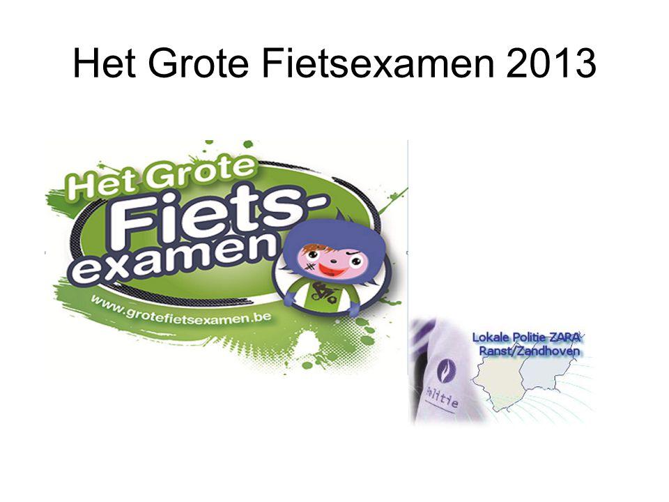 Het Grote Fietsexamen 2013