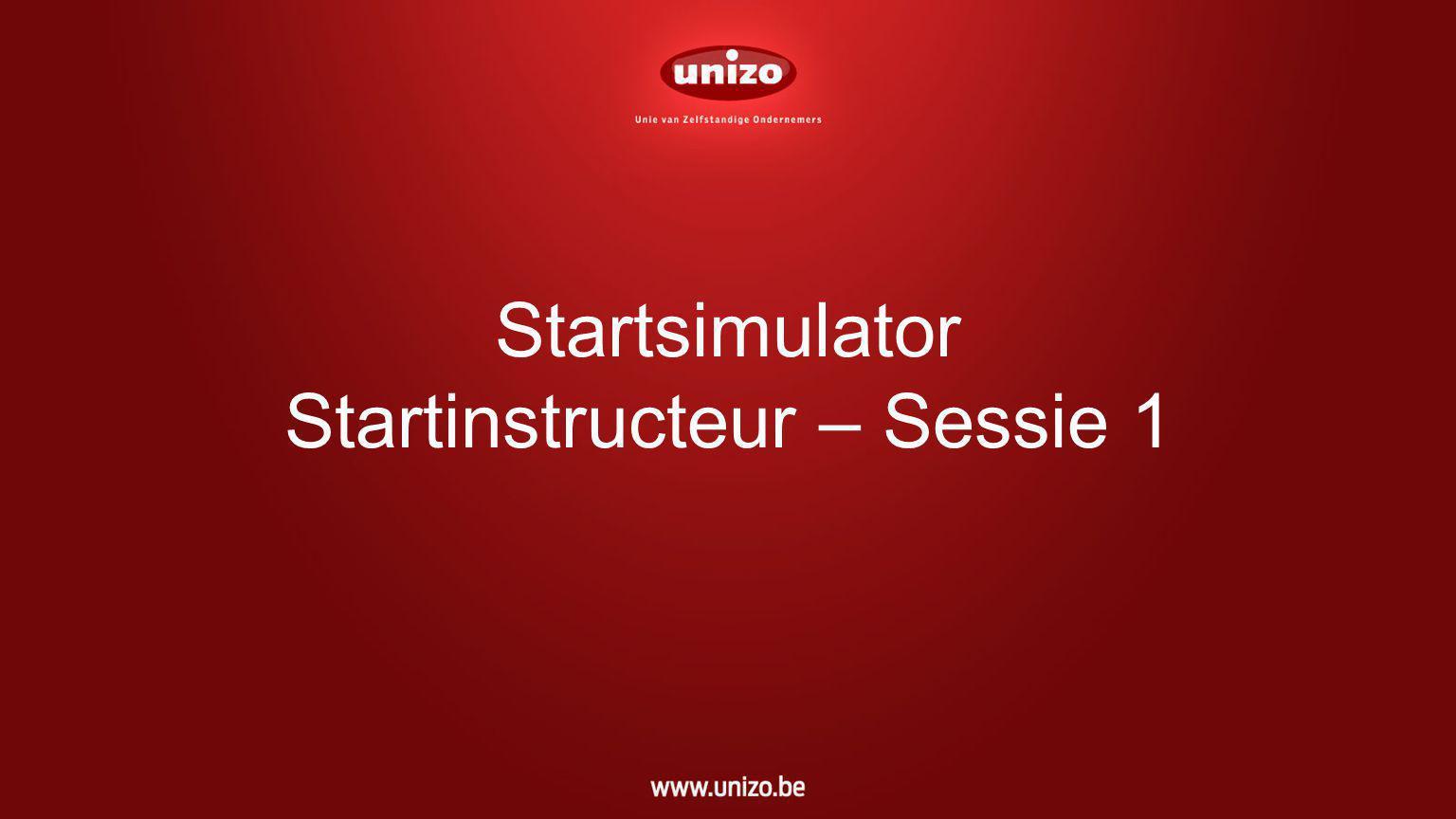 Startsimulator Startinstructeur – Sessie 1