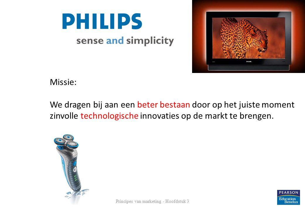 9 Missie: We dragen bij aan een beter bestaan door op het juiste moment zinvolle technologische innovaties op de markt te brengen.