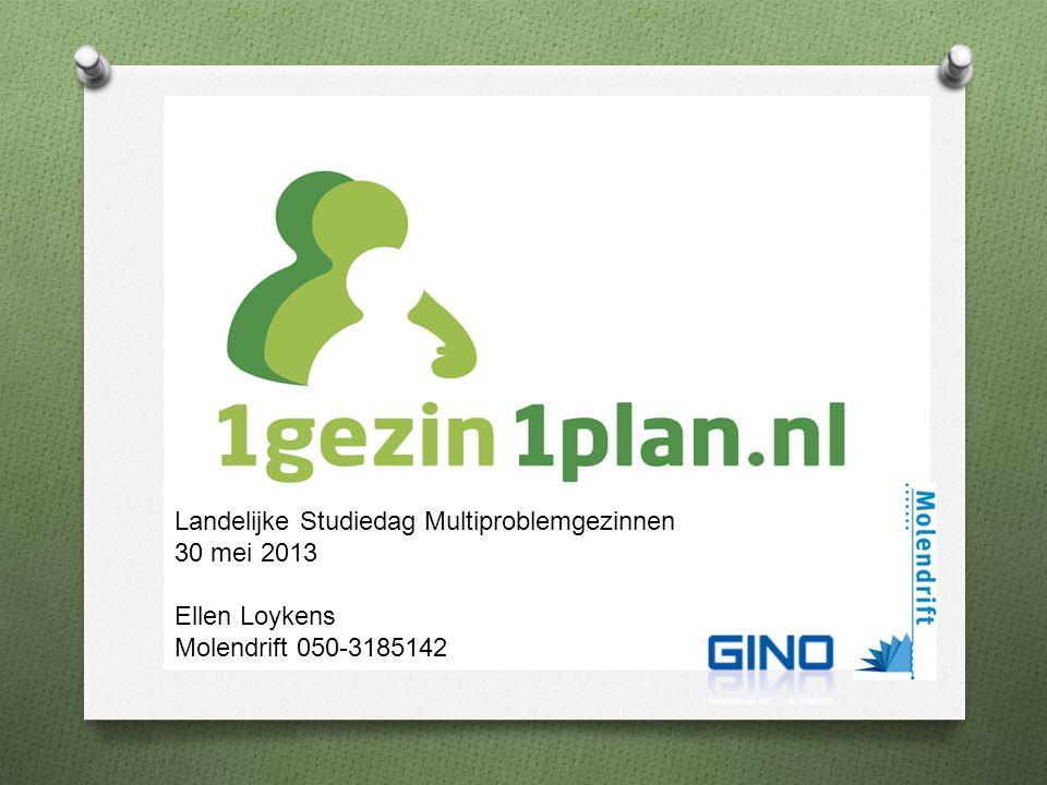 Presenetatie Landelijke Studiedag Multiproblemgezinnen 30 mei 2013 Ellen Loykens Molendrift 050-3185142