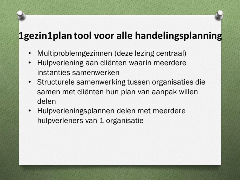 Multiproblemgezinnen (deze lezing centraal) Hulpverlening aan cliënten waarin meerdere instanties samenwerken Structurele samenwerking tussen organisa
