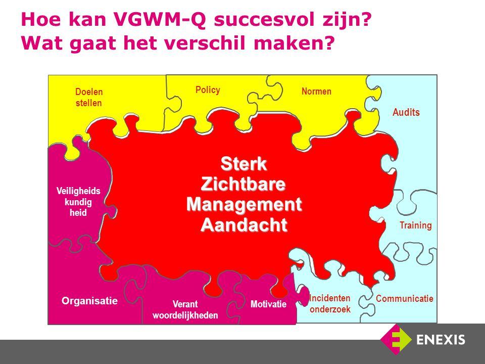 Hoe kan VGWM-Q succesvol zijn. Wat gaat het verschil maken.