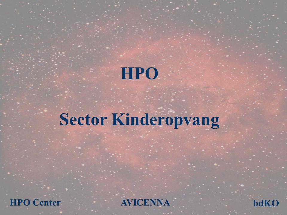 HPO Sector Kinderopvang AVICENNA bdKO HPO Center