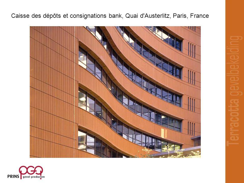 Caisse des dépôts et consignations bank, Quai d Austerlitz, Paris, France