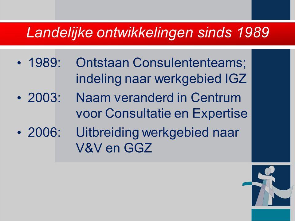Wat zijn de kerntaken van het CCE.Consultatie en second opinion m.b.t.