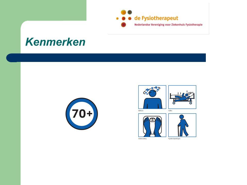 Aanleiding innovatie CBS: toename ziekenhuis opname van oudere pat. 25 % patiënten > 70 jaar