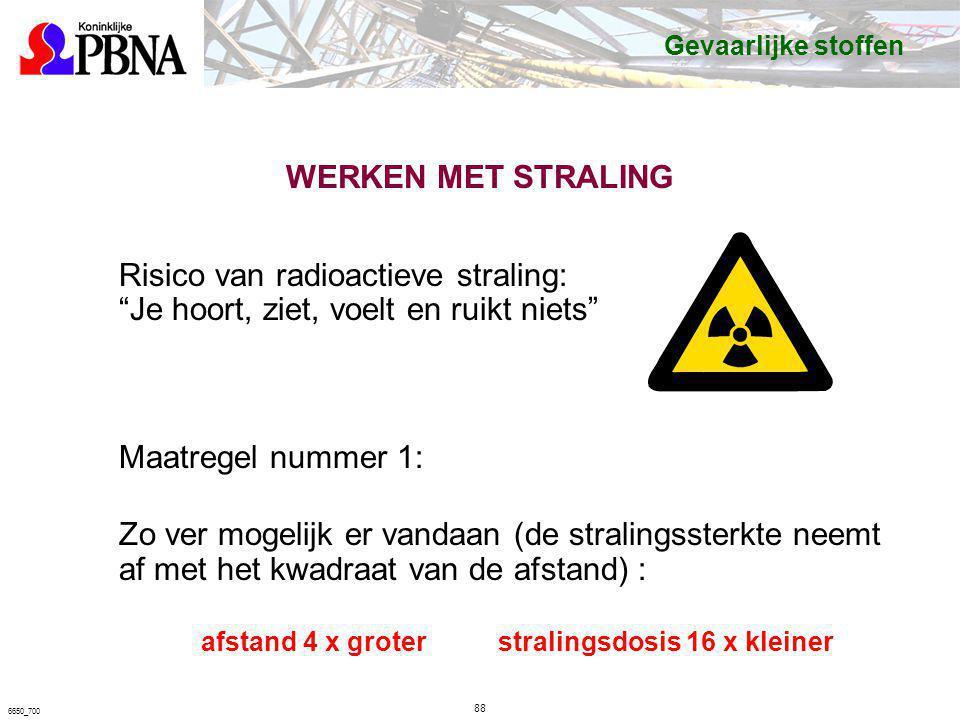 """Risico van radioactieve straling: """"Je hoort, ziet, voelt en ruikt niets"""" Maatregel nummer 1: Zo ver mogelijk er vandaan (de stralingssterkte neemt af"""