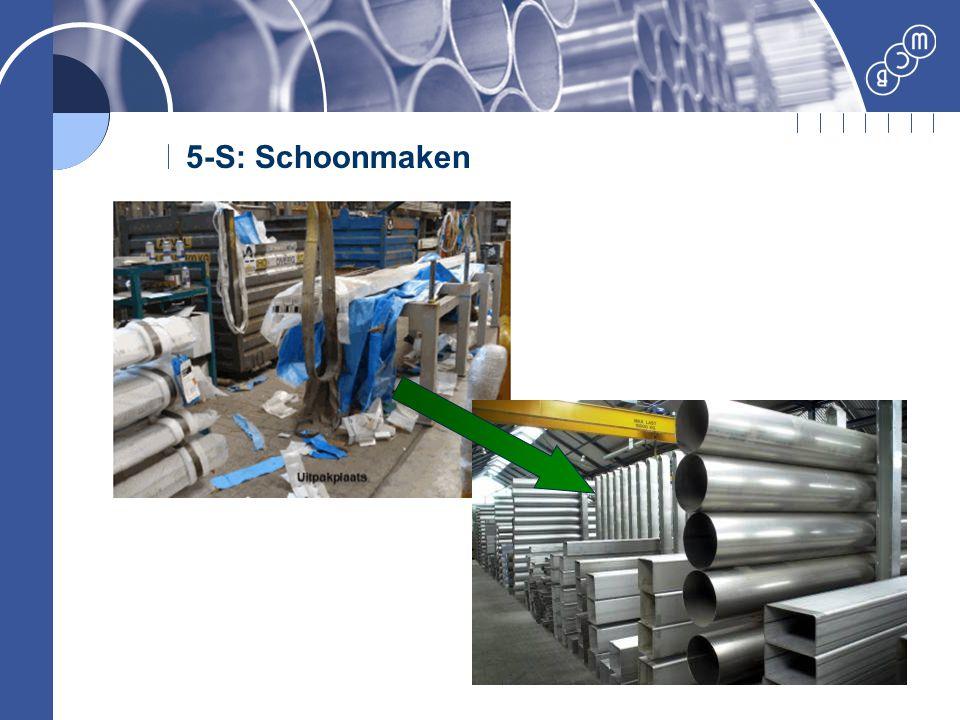 5-S: Schoonmaken