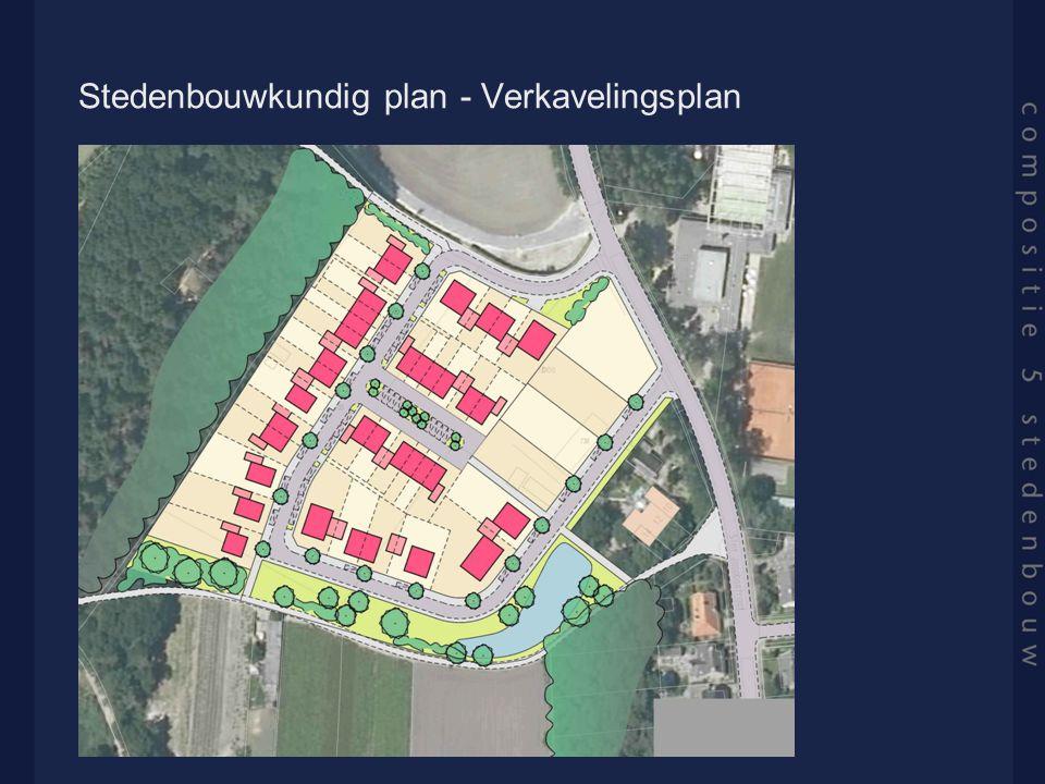 Stedenbouwkundig plan - Verkavelingsplan