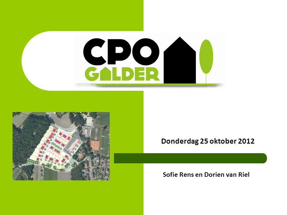 Donderdag 25 oktober 2012 Sofie Rens en Dorien van Riel