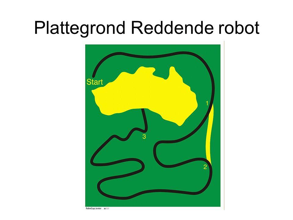 Plattegrond Reddende robot