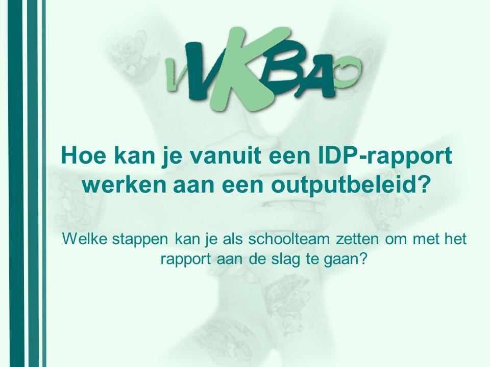 VOOR 4.Hoe kunt u het IDP- rapport downloaden.