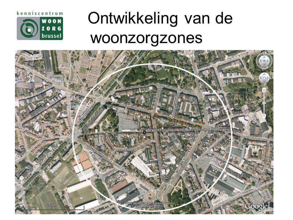 Ontwikkeling van de woonzorgzones
