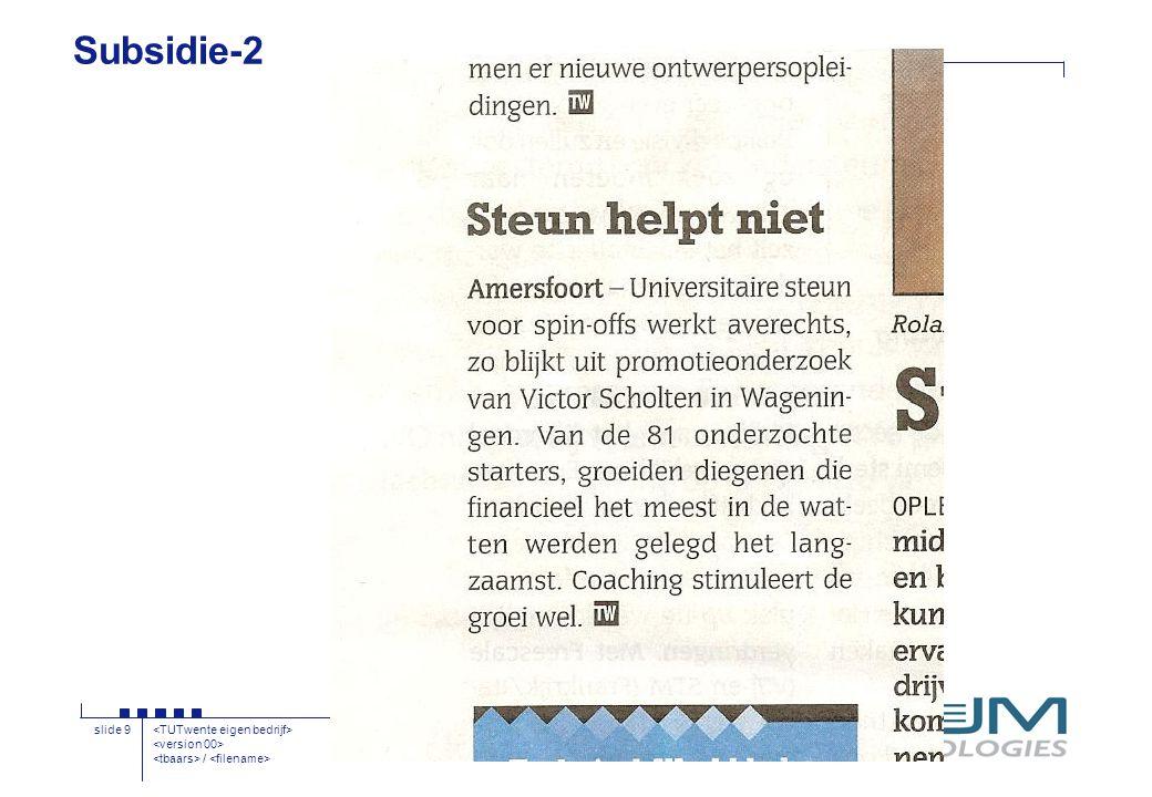 / slide 9 Subsidie-2