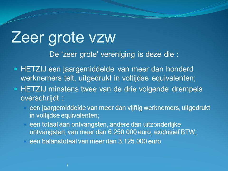 8 Verplichtingen De statuten en statutenwijzigingen moeten worden gepubliceerd in het Belgisch Staatsblad, evenals de benoemingen van de raad van bestuur, eventueel dagelijks bestuur en commissarissen.