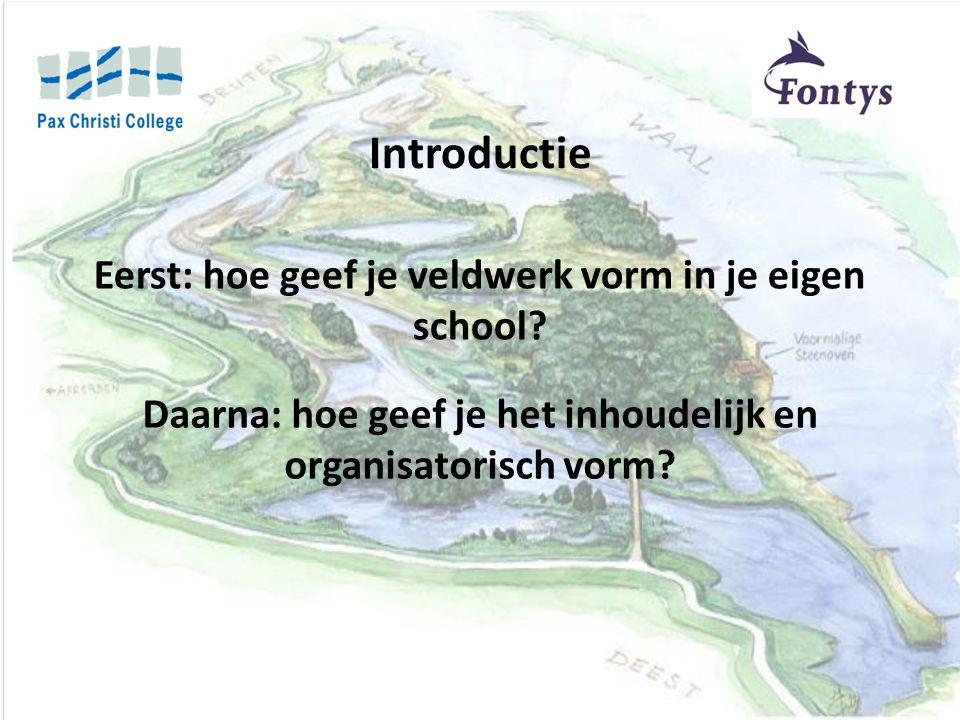 Samenwerking met: Sectie biologie Dekker van der Kamp Staatsbosbeheer FLOT