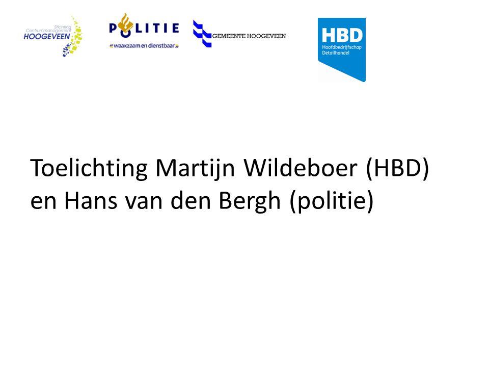 Toelichting Martijn Wildeboer (HBD) en Hans van den Bergh (politie)