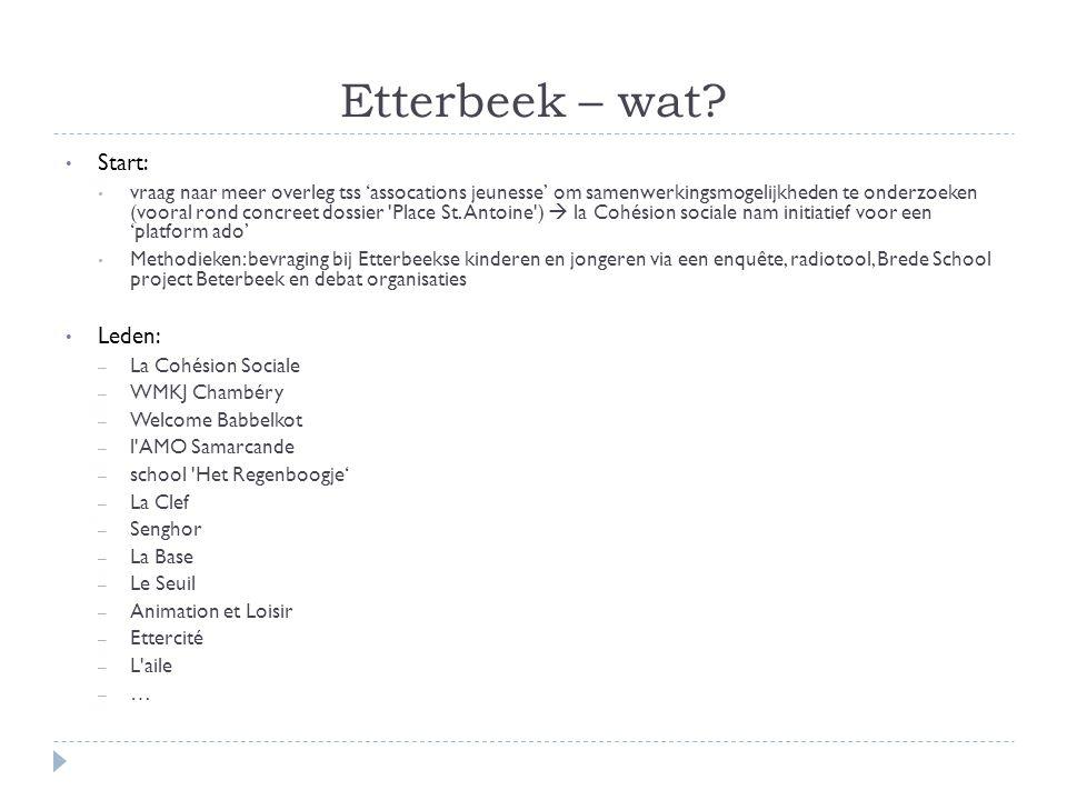 Etterbeek – wat.