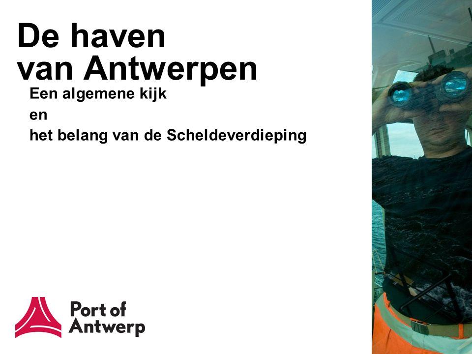 De haven van Antwerpen in het algemeen