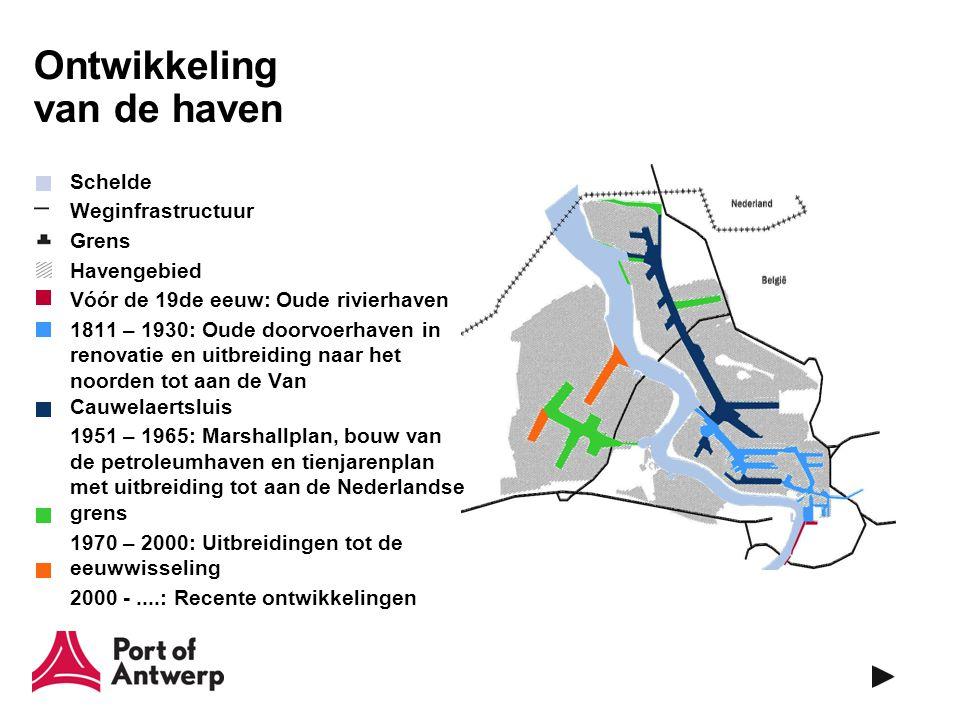 Antwerpen 16de eeuw –Grootste Europese haven –2de grootste Europese stad