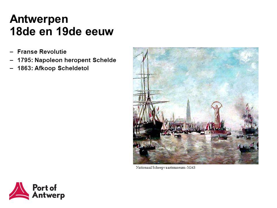 Antwerpen 1945-1965 –Marshallplan –10-jaren plan 1955-1965 –Kanaaldokken –Industrie –Zandvlietsluis