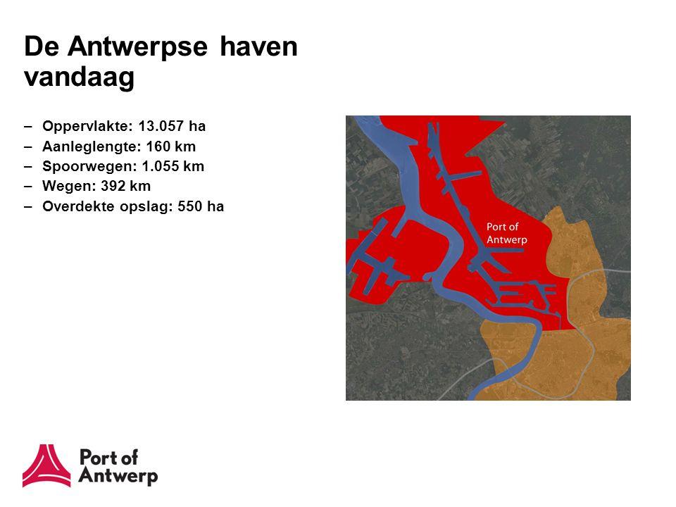 Probleemstelling toegankelijkheid Huidige vaargeul is niet diep genoeg : slechts de schepen met een diepte tot 11,85 m kunnen getijonafhankelijk de Schelde opvaren.