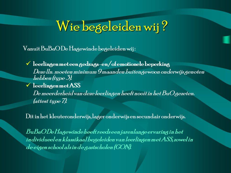 Aanmeldingsprocedure CLB van de gastschool, ouders of de gastschool zelf richten een aanvraag tot directie of coördinatoren van BuBaO De Hagewinde vóór 10 juni 2010.
