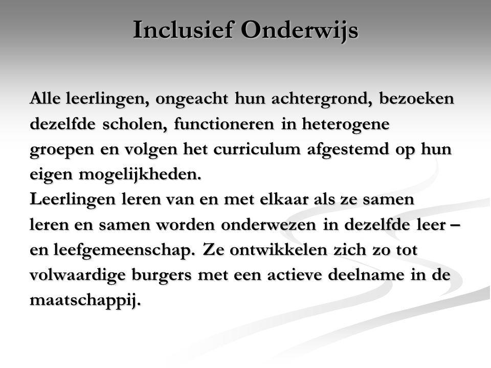 Internationale context Op 30 maart 2007 heeft Nederland in New York het VN-verdrag voor De Rechten van mensen met een beperking ondertekend.