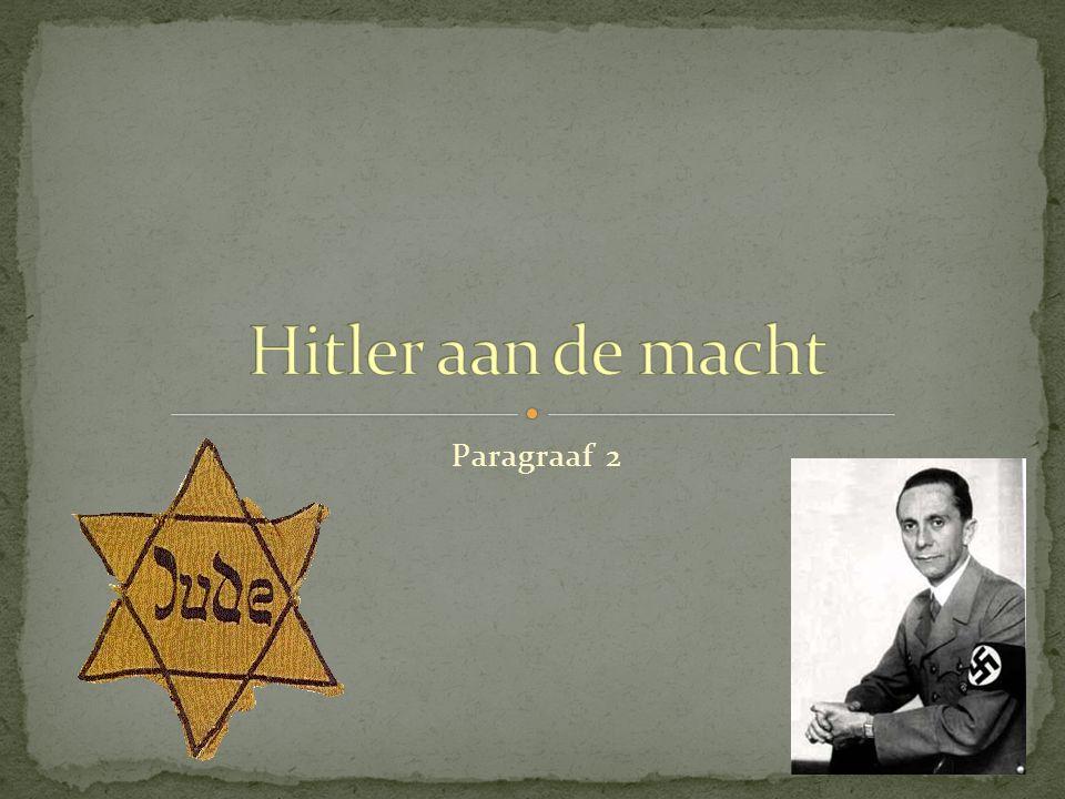 1936: Rijnland wordt weer ingenomen door Duitsland ( =grens met Frankrijk) 1938: Oostenrijk wordt bij Duitsland gevoegd: Anschluss.