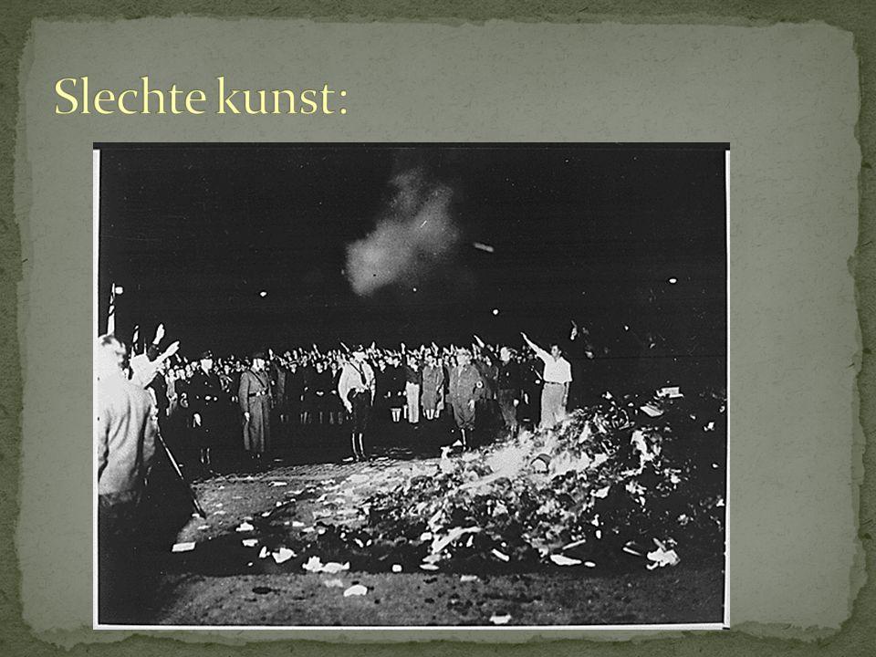 Vakbonden werden verboden.Daarvoor kwam: Deutsche Arbeitsfront.