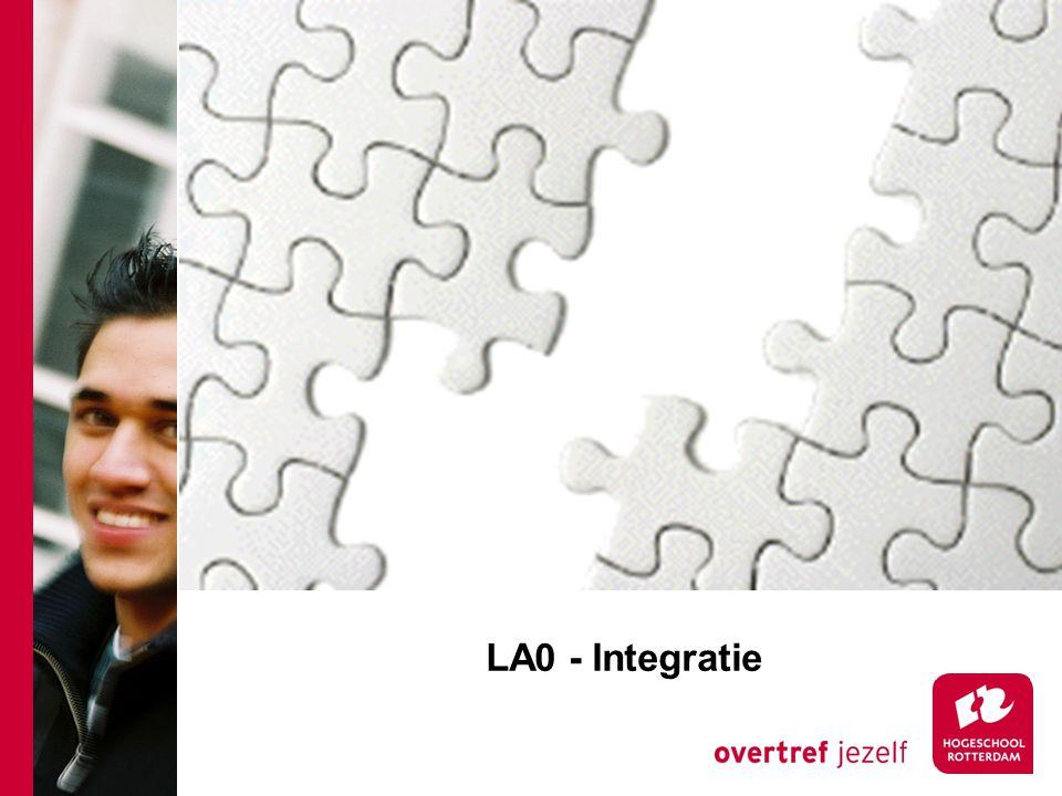 LA0 - Integratie