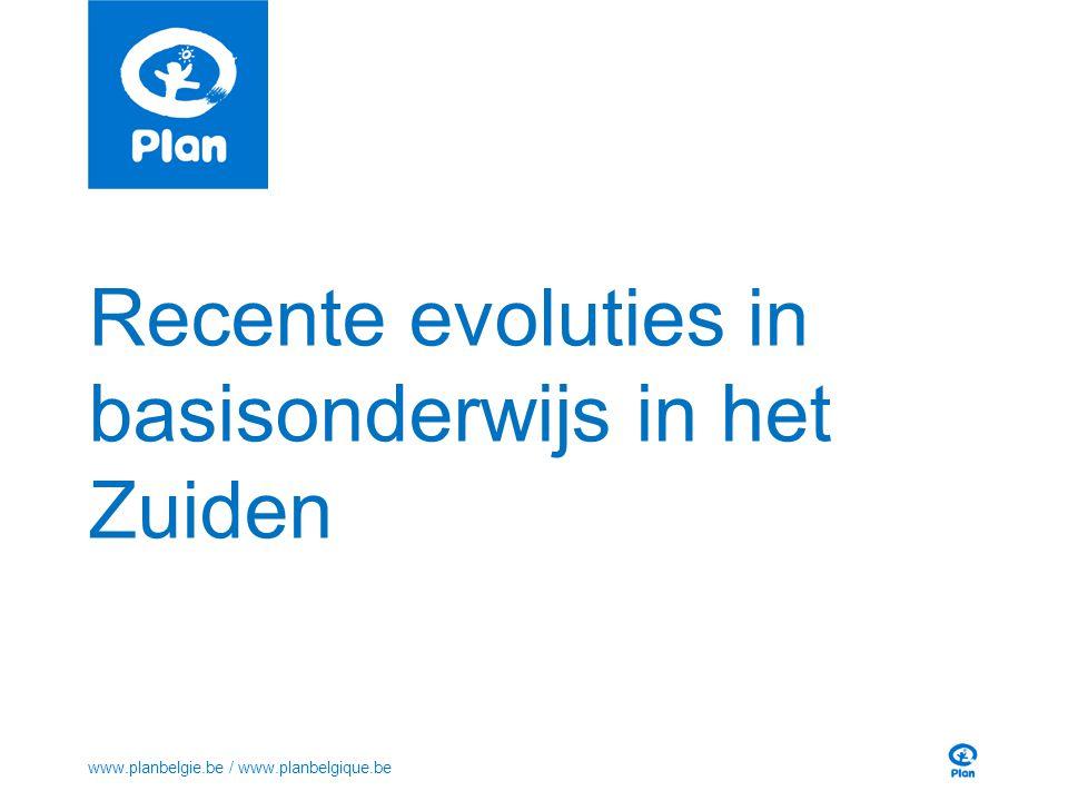 Grote vooruitgang in toegang 3 www.planbelgie.be / www.planbelgique.be