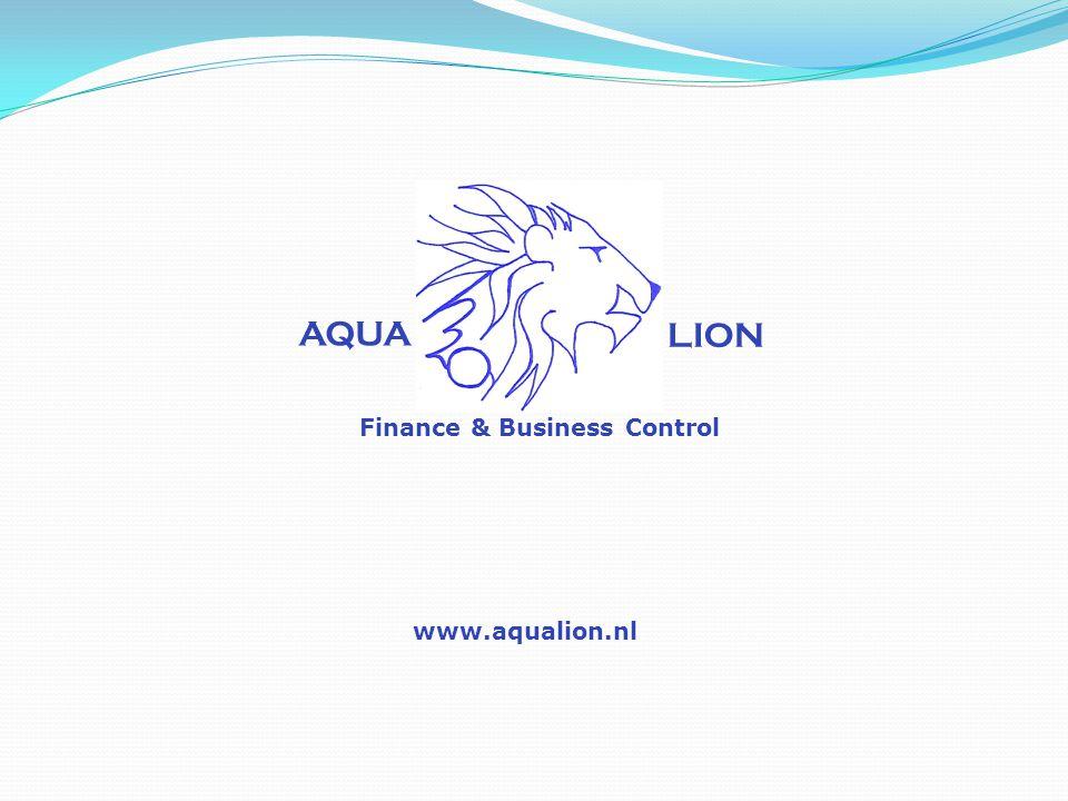 AQUA LION Finance & Business Control www.aqualion.nl
