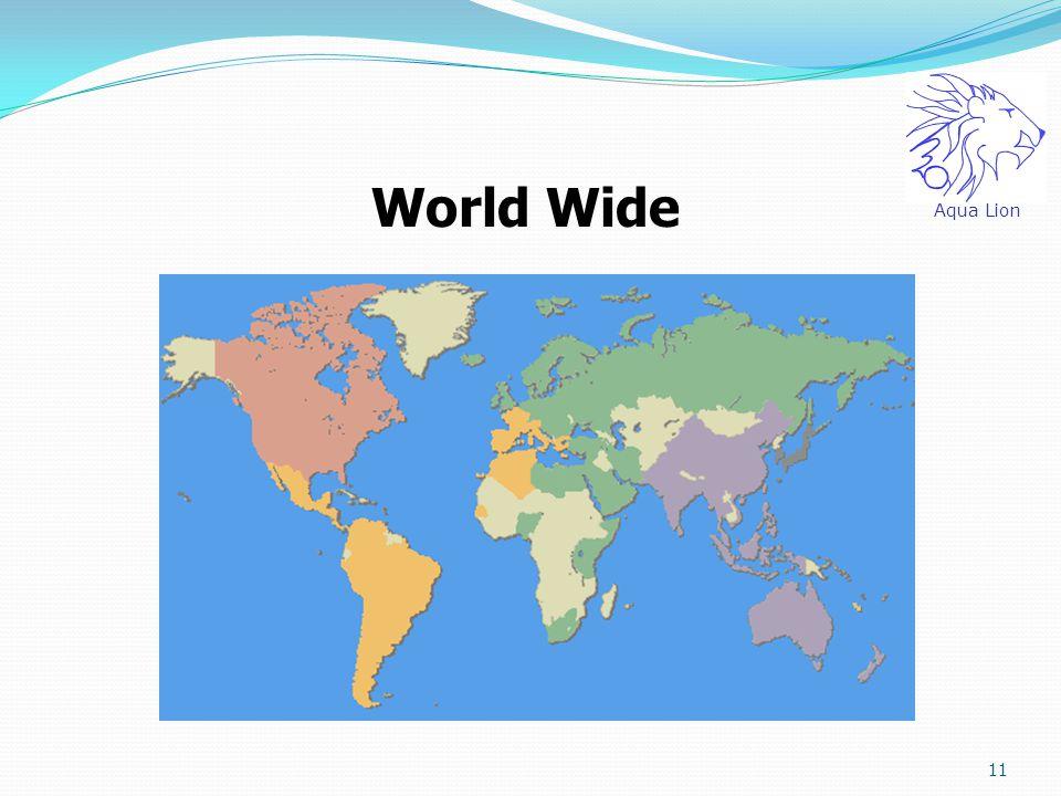 11 World Wide Aqua Lion