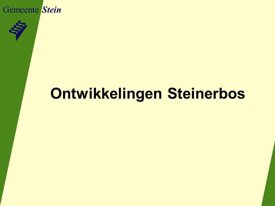 Gemeente Stein Ontwikkelingen Steinerbos