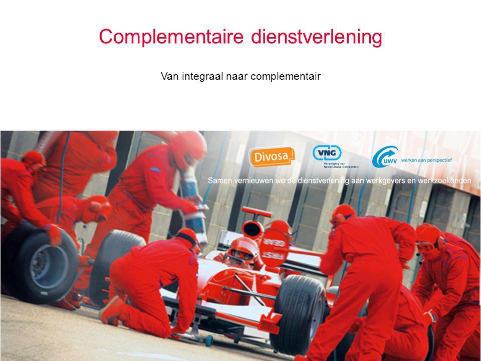 Complementaire dienstverlening Van integraal naar complementair
