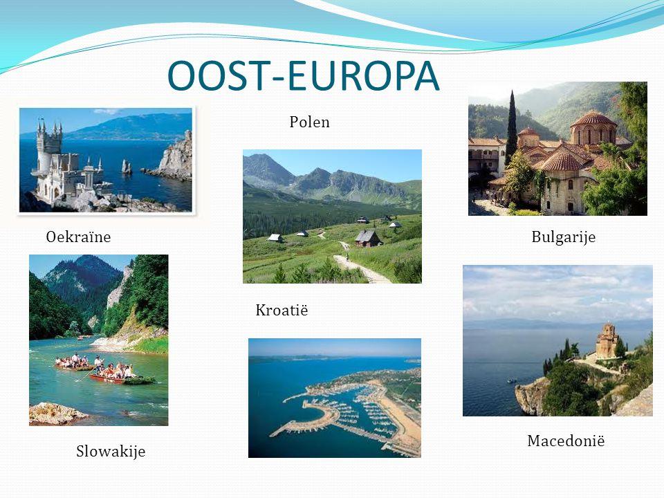 OOST-EUROPA Bulgarije Polen Oekraïne Slowakije Macedonië Kroatië