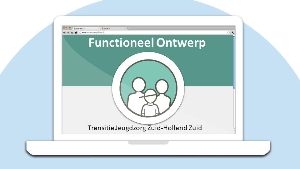 Functioneel Ontwerp Transitie Jeugdzorg Zuid-Holland Zuid