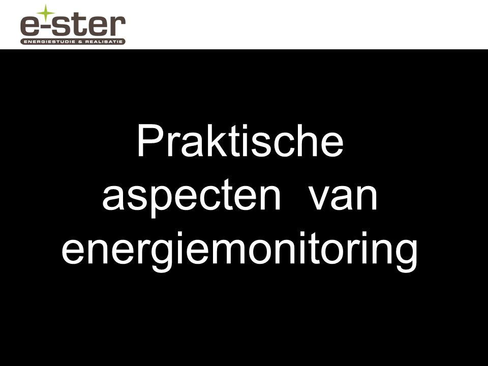 Praktische aspecten van energiemonitoring