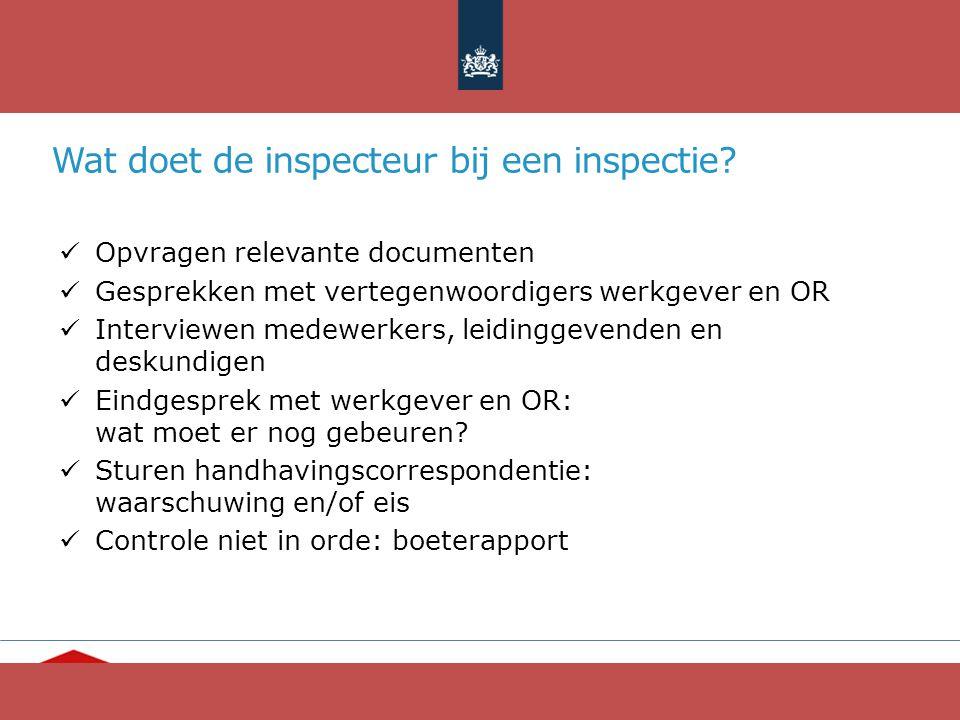 """""""Ieder mens telt"""" www.opvang.nl Wat doet de inspecteur bij een inspectie? Opvragen relevante documenten Gesprekken met vertegenwoordigers werkgever en"""