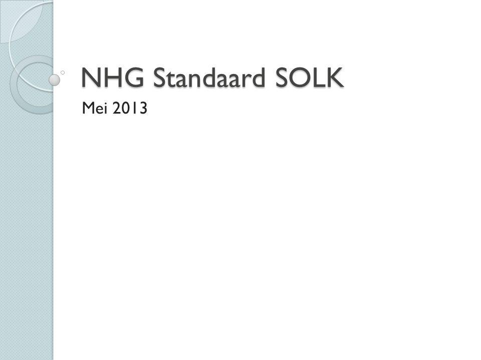 NHG Standaard SOLK Mei 2013