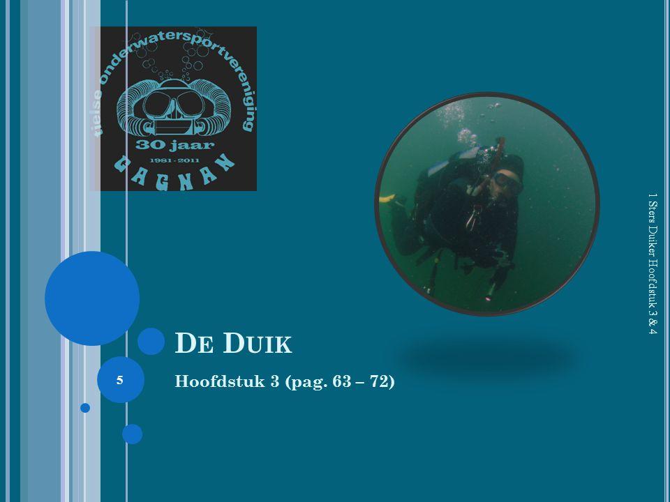 D E D UIK Hoofdstuk 3 (pag. 63 – 72) 1 Sters Duiker Hoofdstuk 3 & 4 5