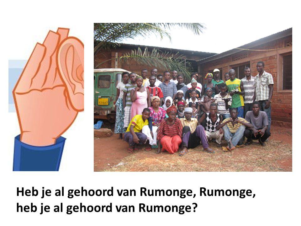 Heb je al gehoord van Rumonge, Rumonge, heb je al gehoord van Rumonge?