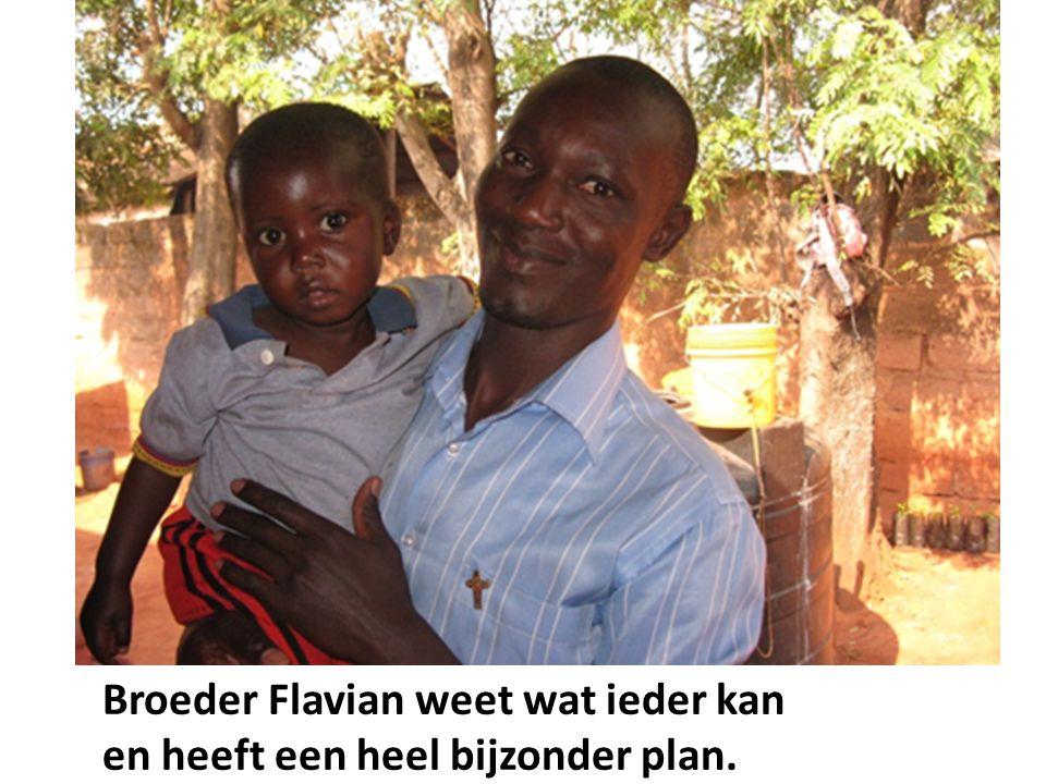 Broeder Flavian weet wat ieder kan en heeft een heel bijzonder plan.