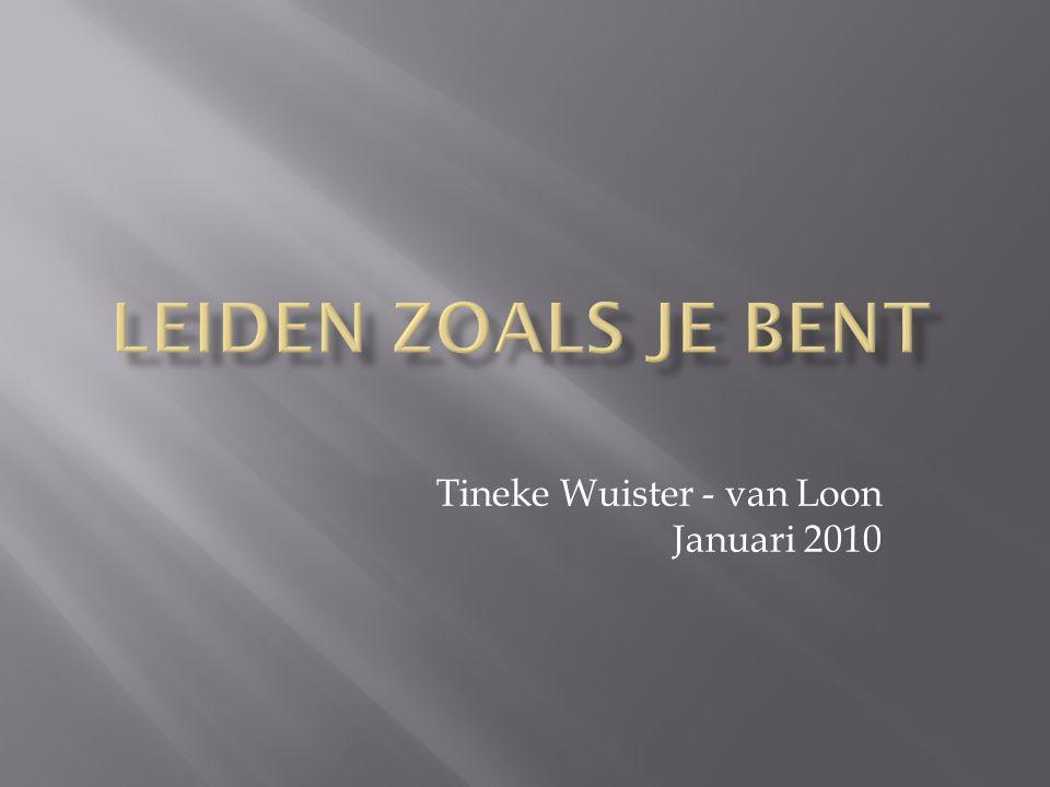Tineke Wuister - van Loon Januari 2010