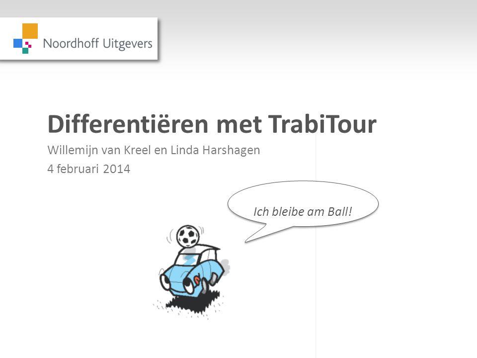 Differentiëren met TrabiTour Willemijn van Kreel en Linda Harshagen 4 februari 2014 Ich bleibe am Ball!
