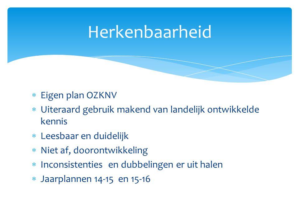 Schoolbestuur verantwoordelijk voor zorgplicht Komt terug in uitwerking:  Inrichting samenwerkingsverband  Verdeelmodel  Financiële en procedurele verantwoordelijkheid plaatsing in sbao en so Hoofdgedachte OZKNV