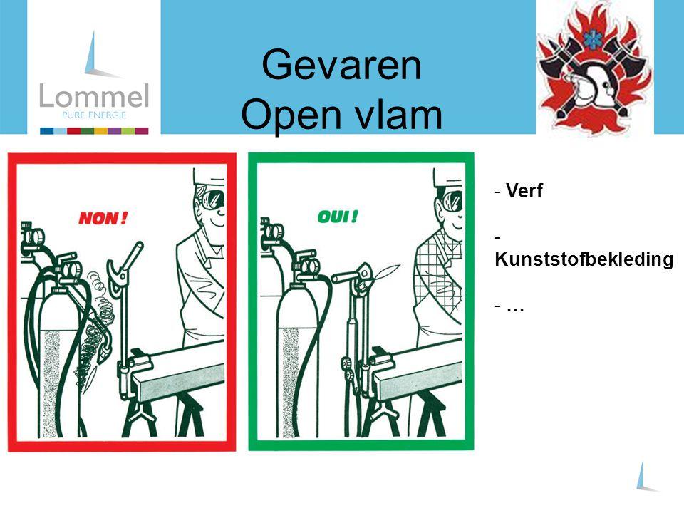 Gevaren Open vlam - Verf - Kunststofbekleding - …