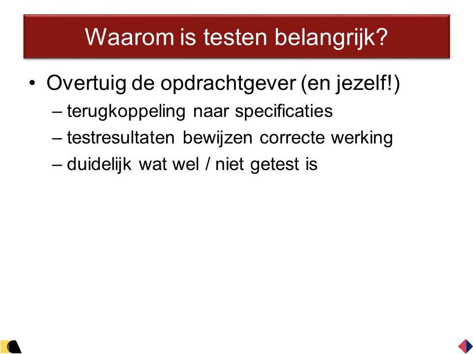 17 Voorbeeld testuitvoering 17 Testrapport obv testset 1: Bod registreren Uitgevoerd door: Bram Knippenberg, op 14 mei 2013 Geteste functionaliteit: Bieden op eigen voorwerp mag niet (B6, Appendix E13) Pagina 1/4