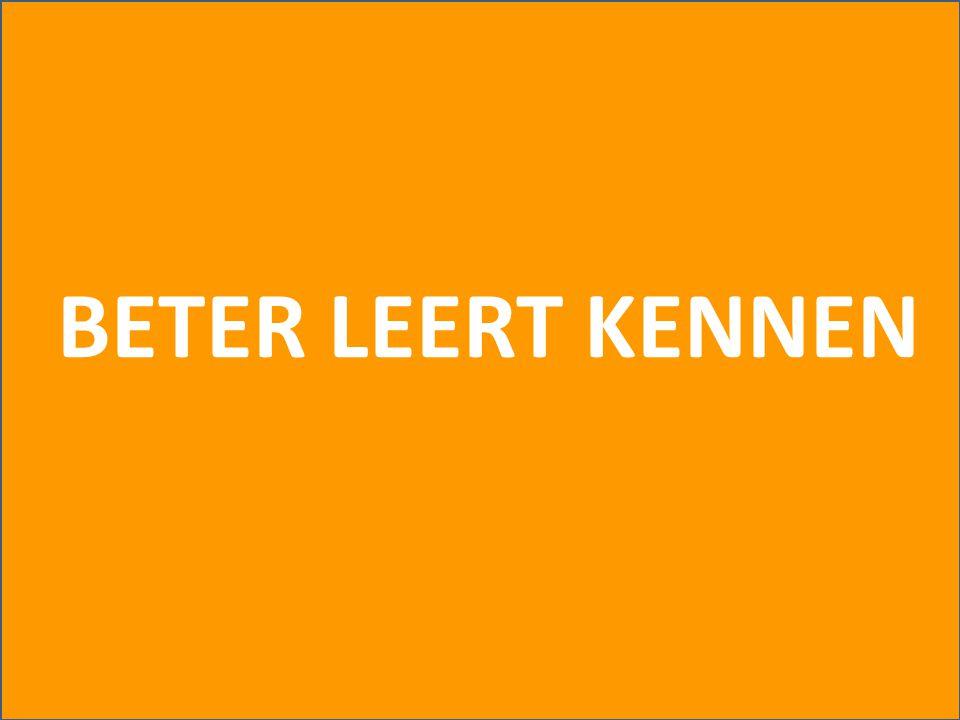 BETER LEERT KENNEN